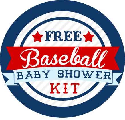 Baseball Themed Baby Shower Kit – FREE | Mama Walker