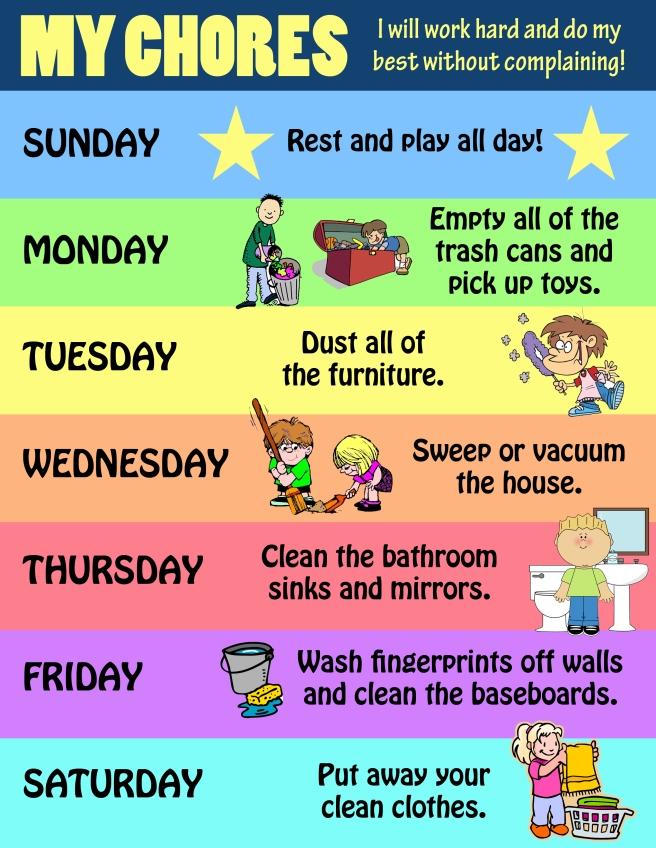 my chores