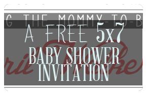 Free Baby Shower Invitation!