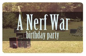 A Nerf War