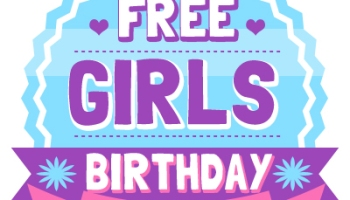 girls skating birthday party invitation and thank you circles free