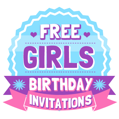 Free Girls Birthday Invitations