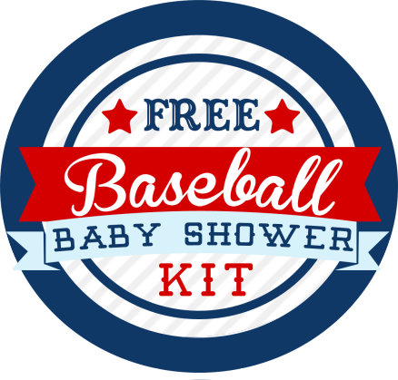 Free Baseball Baby Shower Kit